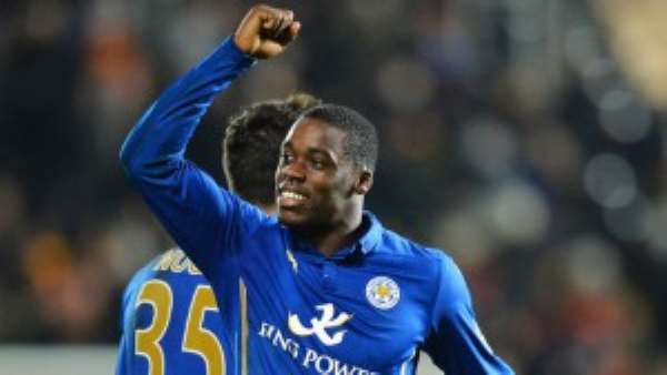 Ghana defender Schlupp ruled out of action for Leicester for two months