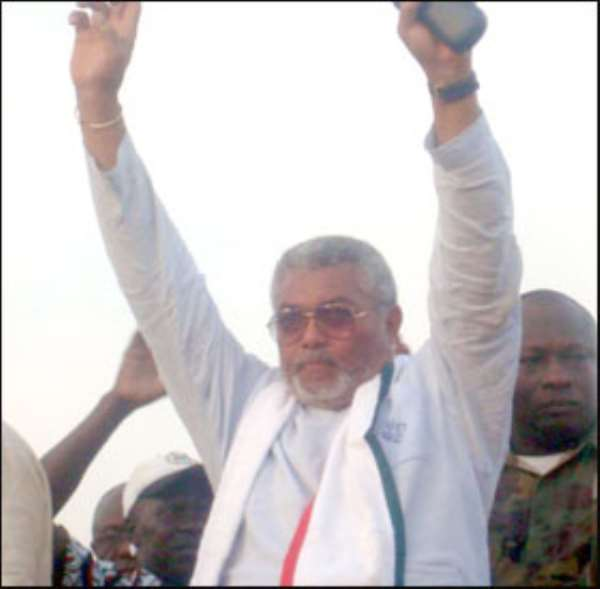 Talk Show on Political era of Jerry Rawlings by TopAfric Radio in Hamburg