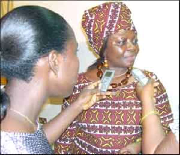 Minister of Tourism, Mrs Juliana Azumah-Mensah