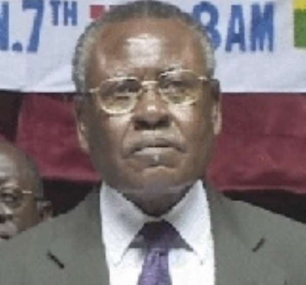 J.H Mensah dragged