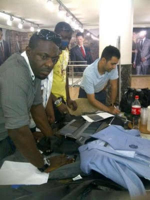 PHOTOS: CELEBRITIES DAZZLES AT THE OFFICIAL OPENING OF JIM IYKE'S MULTI MILLION NAIRA CLOTHING LINE