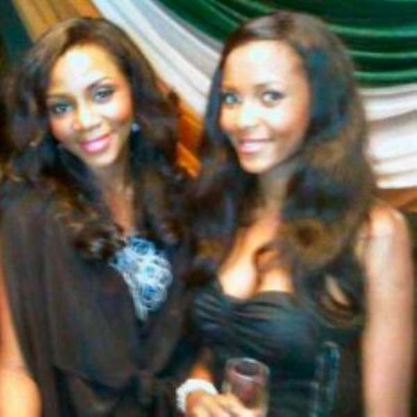That isn't my daughter. Genevieve Nnaji takes to twitter to set the record straight!