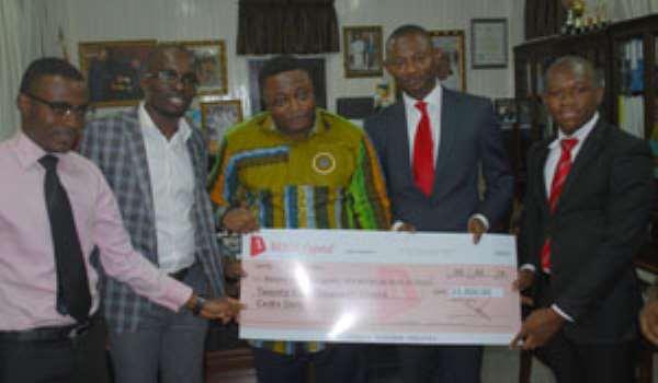 BIEGE Capital Supports Black Stars