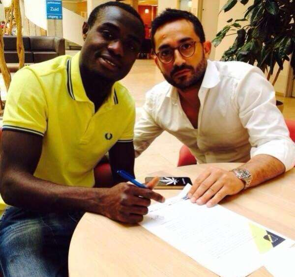 Exclusive: Ghanaian-born Italian Kingsley Boateng signs three-year contract with NAC Breda