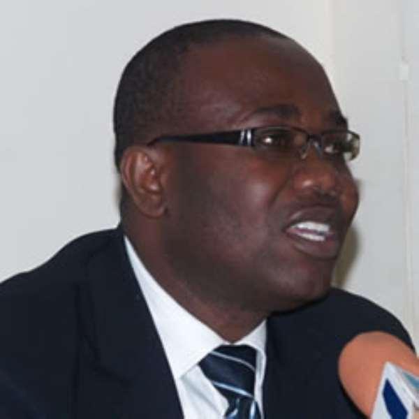 Kwesi Nyantakyi, President of the Ghana Football Association