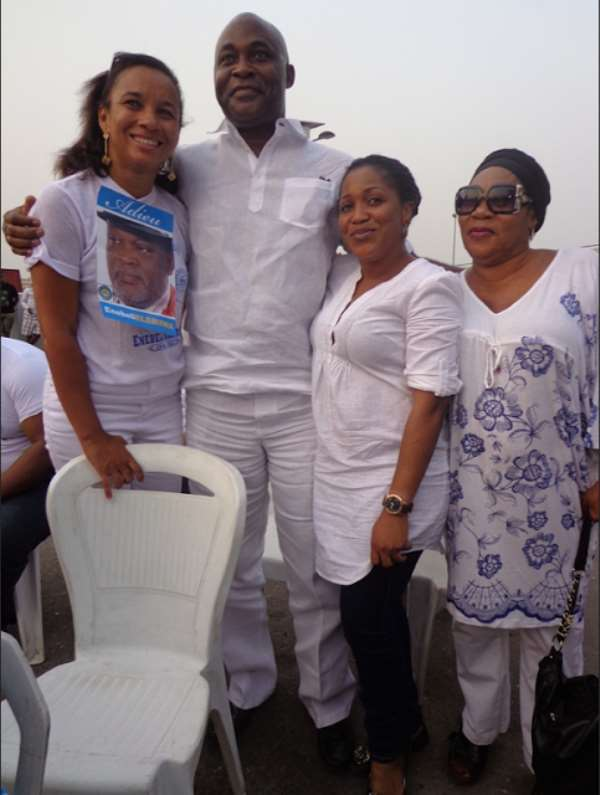 Pictures – Nollywood Actor Enebeli Elebuwa's Burial