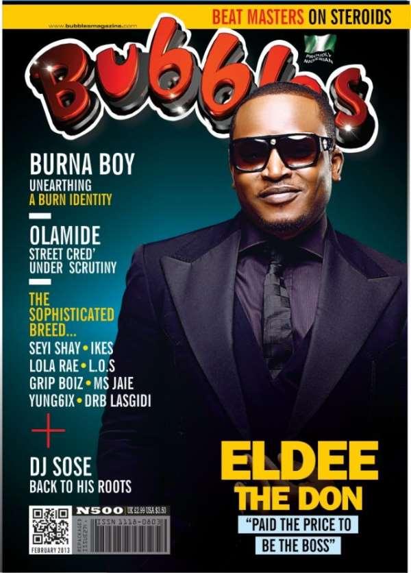 Eldee Covers Bubbles Magazine February Edition