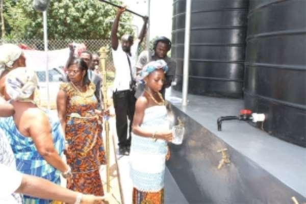 MoneyGram supports Abokobi with borehole