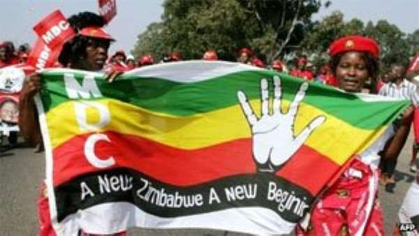 """The MDC has condemned the election as a """"farce"""""""