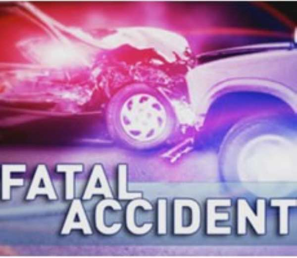 Five dead in fatal Nsawam accident