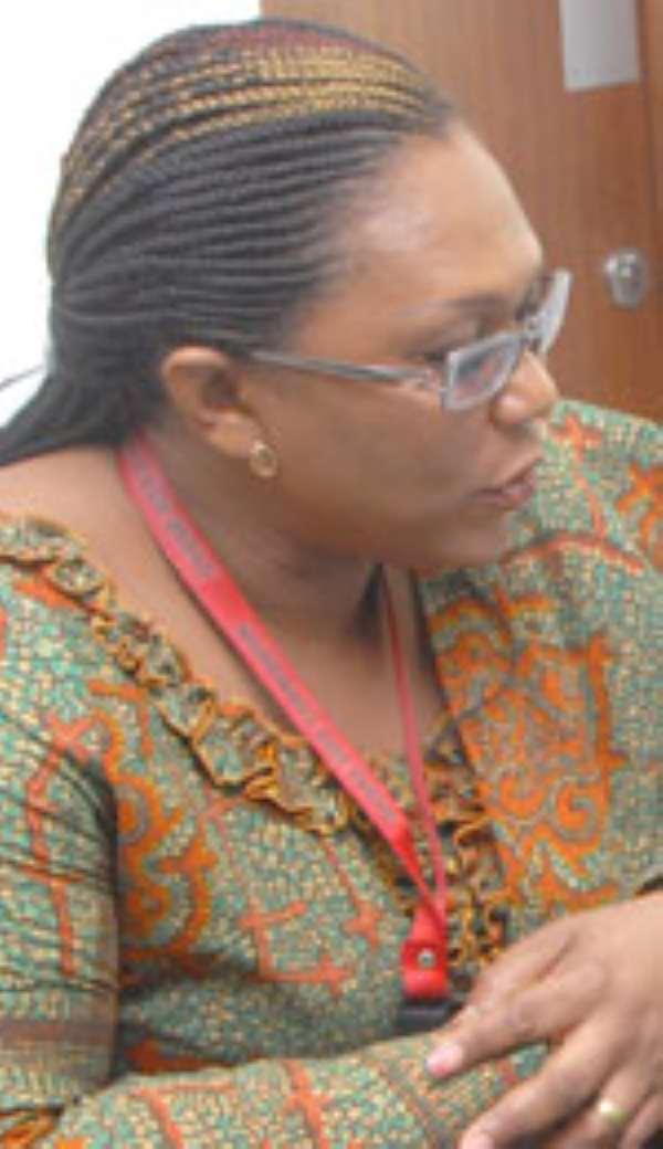 Dr. Angela El Adas, Ghana AIDS Commission