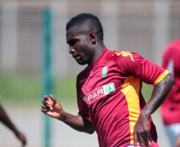 Ghanaian midfielder John Arwuah warns players against insatiable Europe adventures
