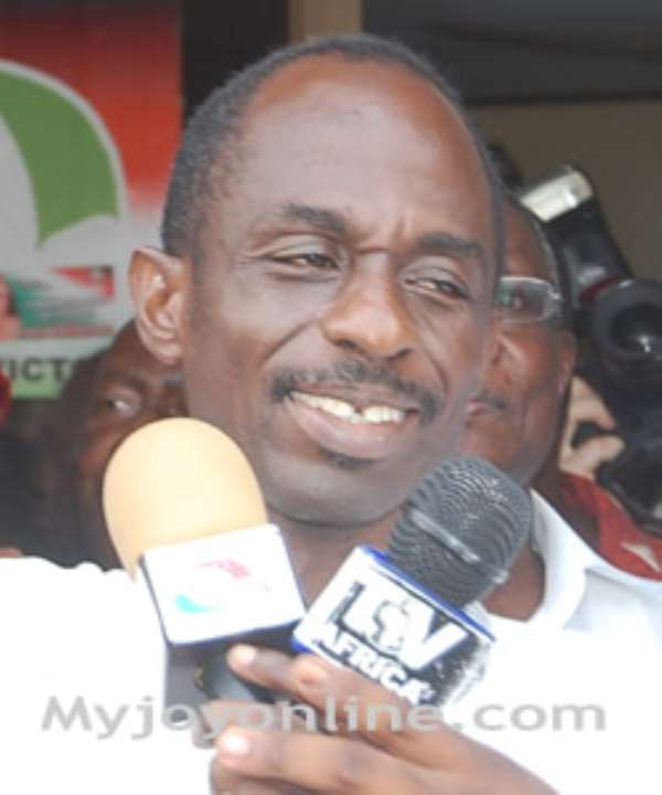 Johnson Asiedu Nketia, General Secretary of the NDC