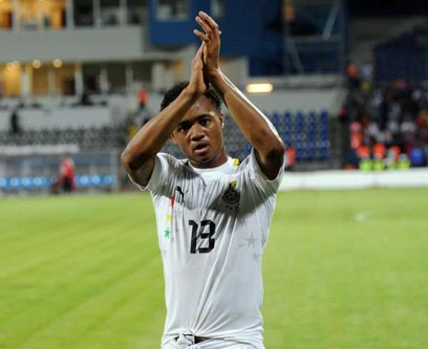 Jordan Ayew is keen to deliver for Ghana against Egypt
