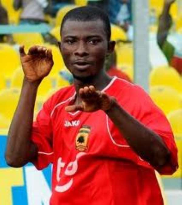 Jordan Opoku has returned to Kotoko to win more trophies
