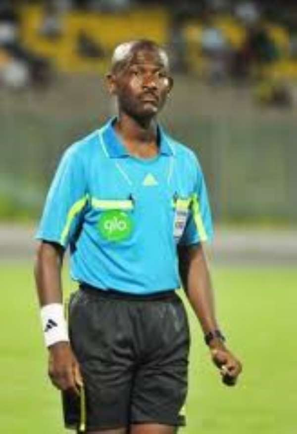 Referee Lamptey for FIFA World Cup