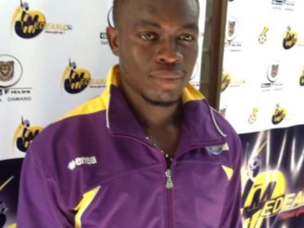 Joseph Halm has been suspended by Medeama for going AWOL