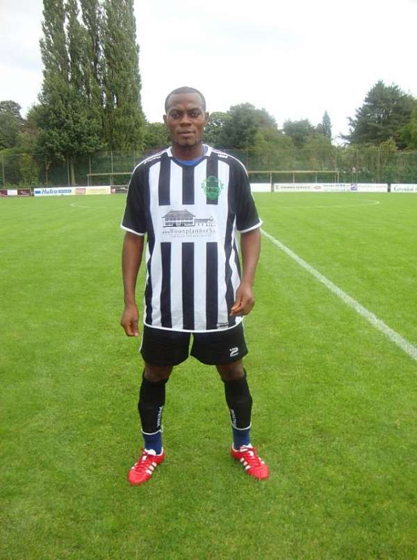 Peter Osei has signed a three-year deal with SV Roeselare