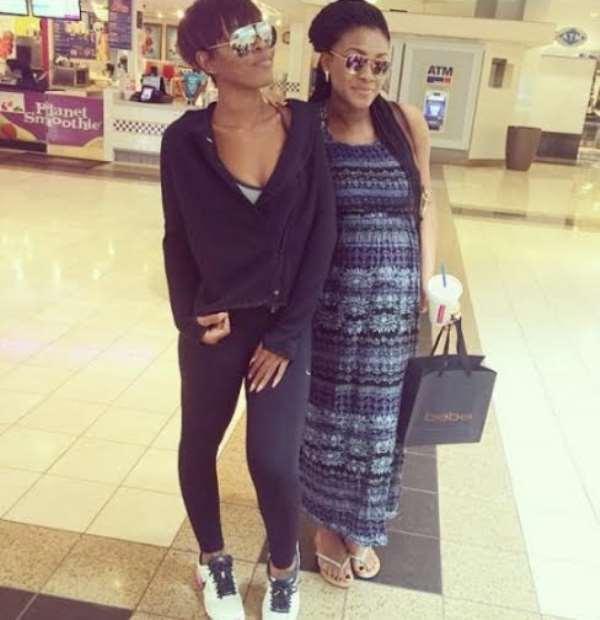Jude Okoye's Wife, Ifeoma, Flaunts Baby Bump