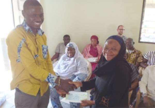 Trull Foundation supports NGOs in Tamale
