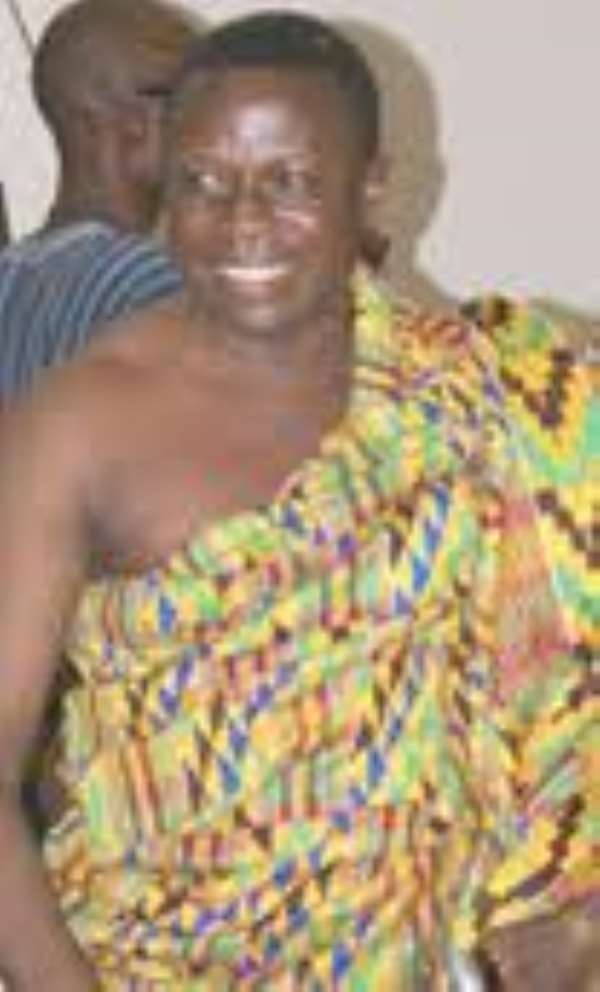 Kwame Danso and the magic of chieftaincy