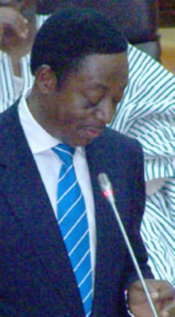 Dr. Kwabena Duffuor, Minister for Finance & Economic Planning