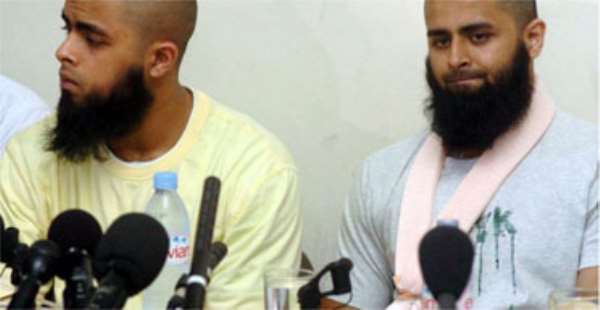 I was kicked after being shot, says terror raid Muslim