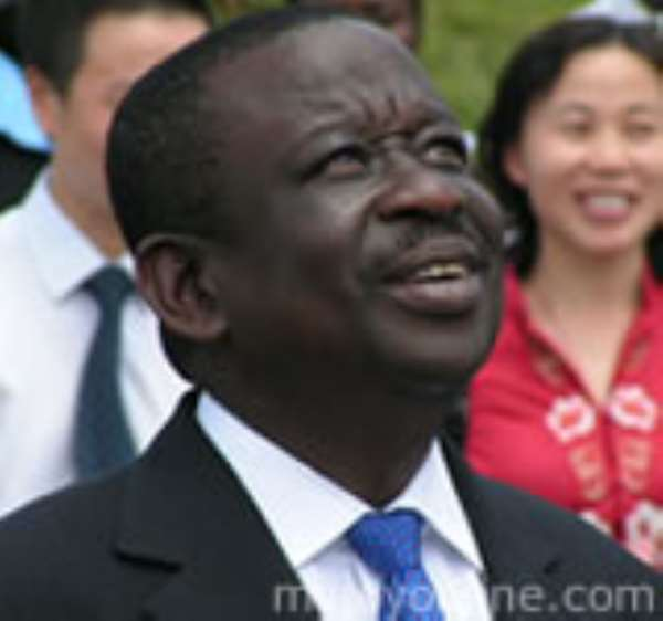 Former Minister of Defence, Mr Albert Kan Dapaah