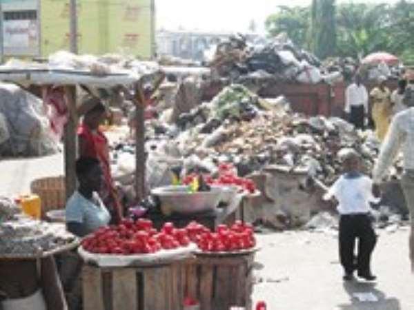 Traders Abandon Kasoa Market