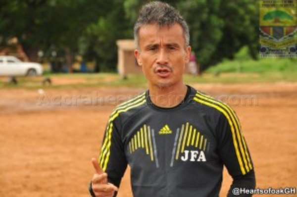 Hearts chiefs issue coach Kenichi Yatsuhashi with ultimatum to save his job