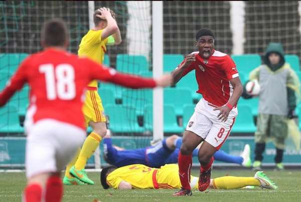 Kevin Danso scored a double for Austria
