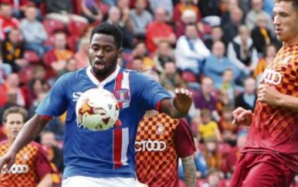 Ghanaian striker Kevin Osei ends six-month loan deal with English side Carlisle United
