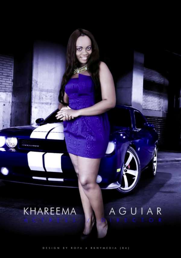 Ghanaian Actress Khareemah Aguiar Charges $10,000 For A Role