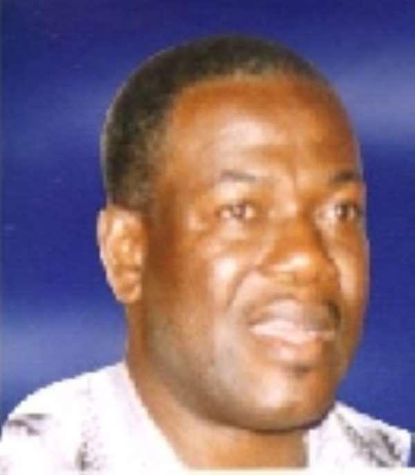 Mr Kofi Dzamesi, Volta Regional Minister