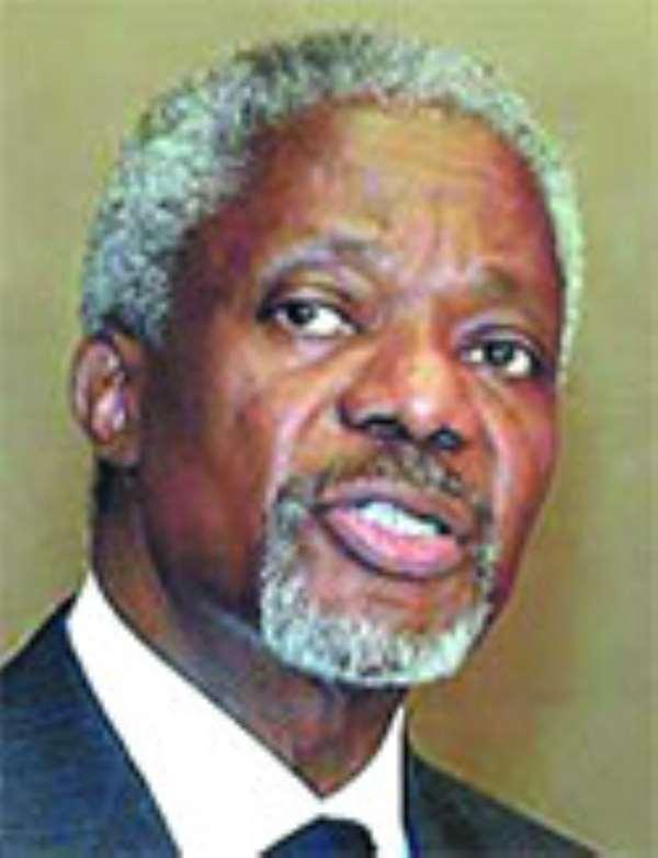 Kofi Annan`s 3 pillars for Africa`s renaissance