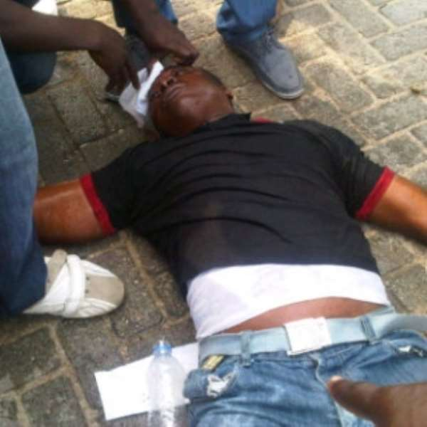 police shoot Lekki toll gates protesters