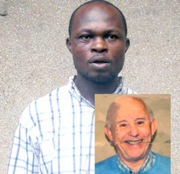 Kofi Seidu, inset: Rev. Sidney Thomas Barnes