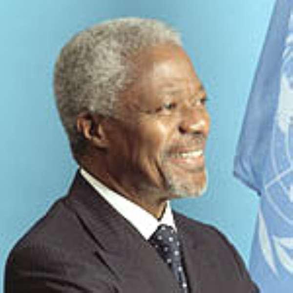 Kofi Annan , UN Secretary-General