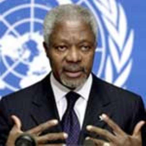 Mr Kofi Annan, UN Secretary-General
