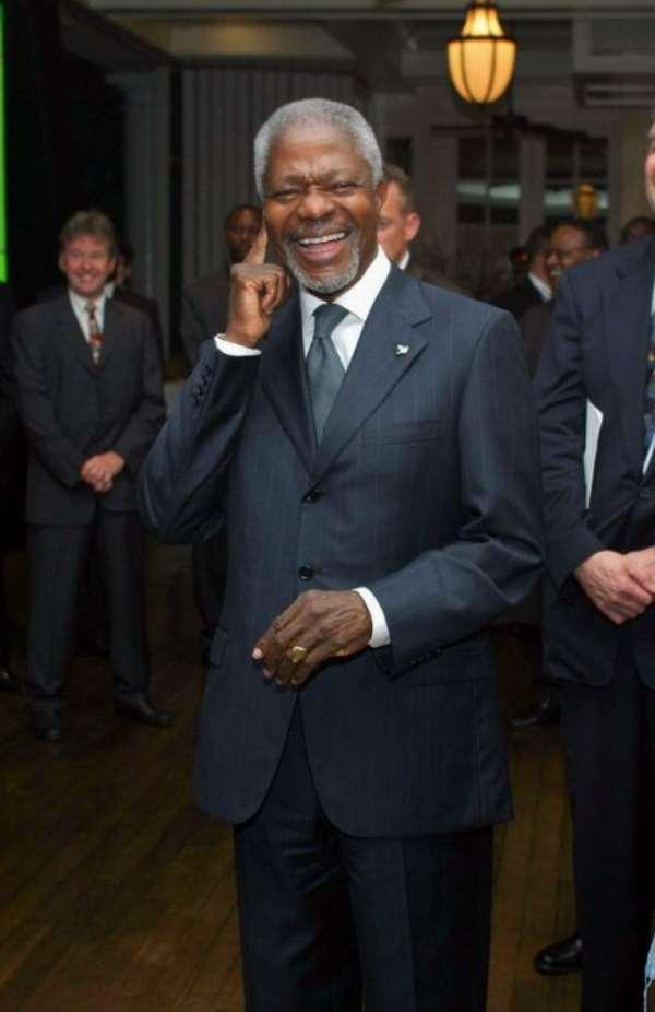 Will Kofi Annan Run In 2008 As An Ind. Candidate?