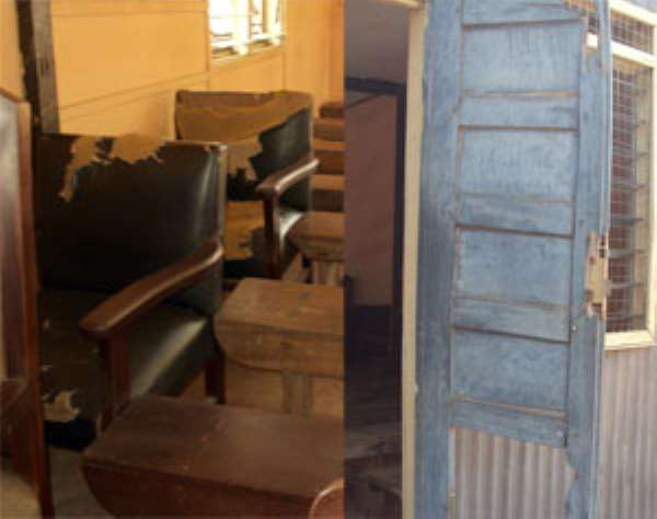 The furniture in Tema Circuit court