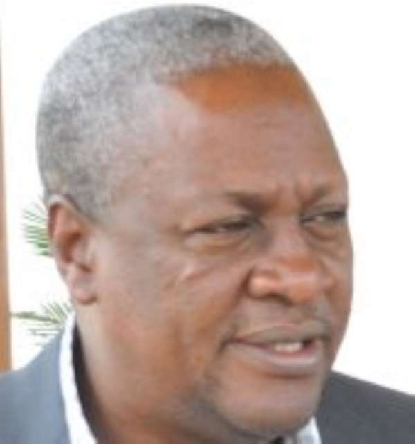 John Mahama Must Be Day Dreaming
