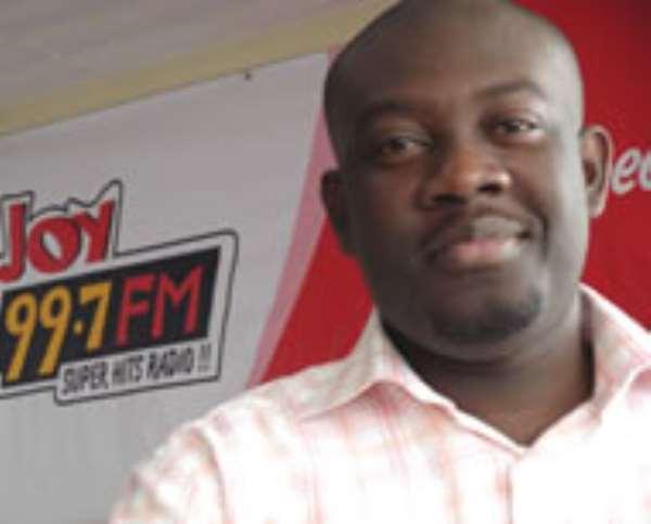 Super Morning Show host Kojo Oppong-Nkrumah