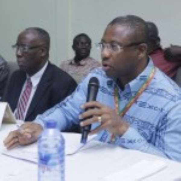 Dr Anthony Mawuli Sallar and Dr Gilbert Buckle at the event