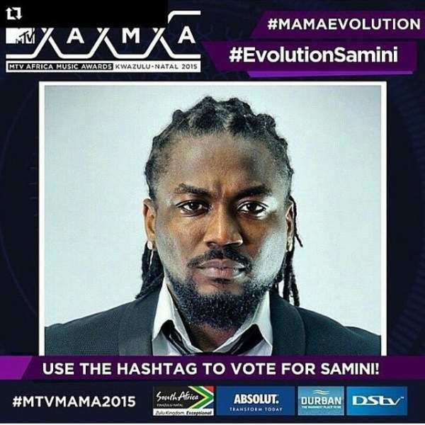 Samini tipped to win MTV MAMA Evolution