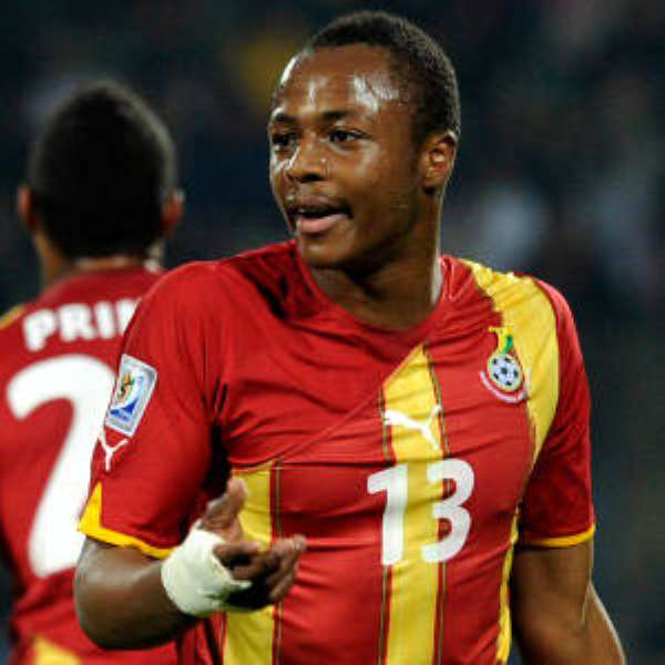Ayew ruled out of Lesotho, Zambia games
