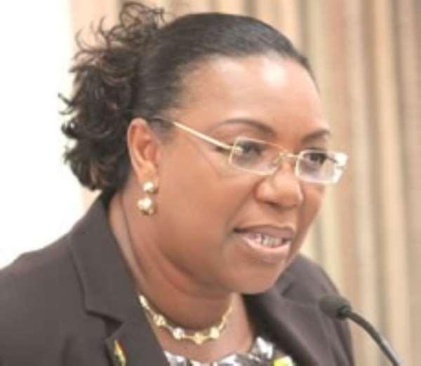 Mrs Betty Mould –Iddrisu, Minister of Education