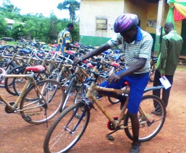 Kuapa Kokoo pilots bamboo bikes to boost education