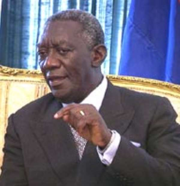 Kufuor opens slavery centre
