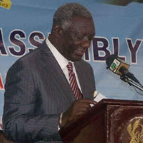 Former president Kufuor invited to Cote d'Ivoire prior to their elections